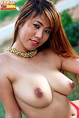 Bb Ran Big Asian Breasts Erect Nipples