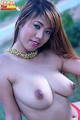 Long Hair Over Her Shoulder Big Tits