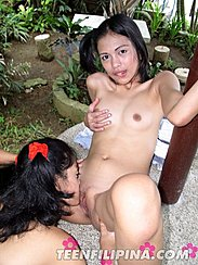 Alma Chua Lesbians Licking Shaved Pussy